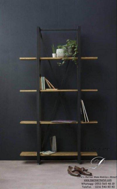 Dekoratif-Metal-Ayaklı-Ahşap-Ayna-Raflı-Kitaplık-ve-Raf-4.jpg